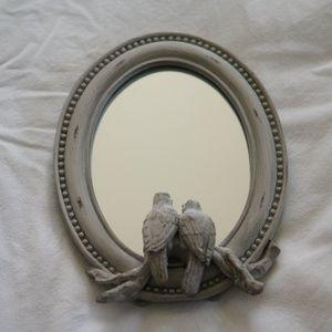 Bird Tabletop Mirror